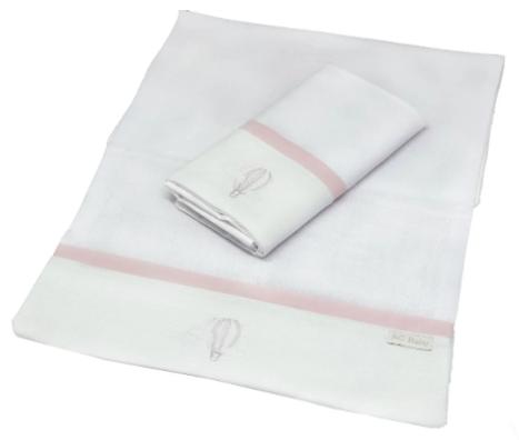 Kit de 2 babitas de hombro balao rosa