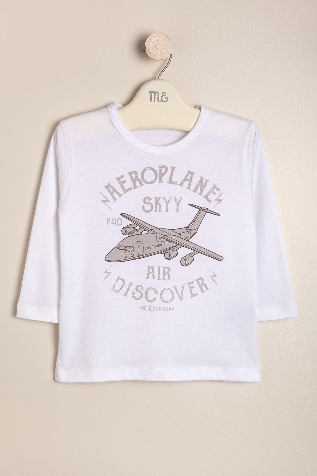 Remera estampada aeroplane
