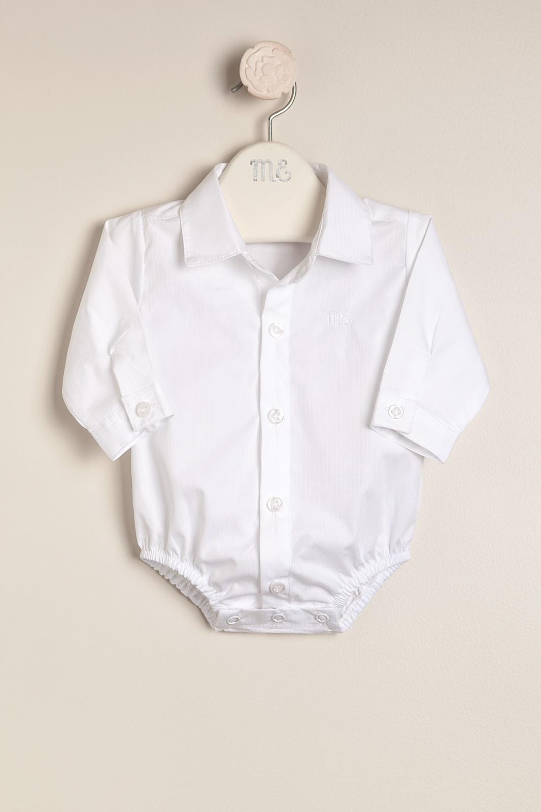 Body camisa de vestir blanco