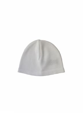 Gorro tejido de algodon blanco
