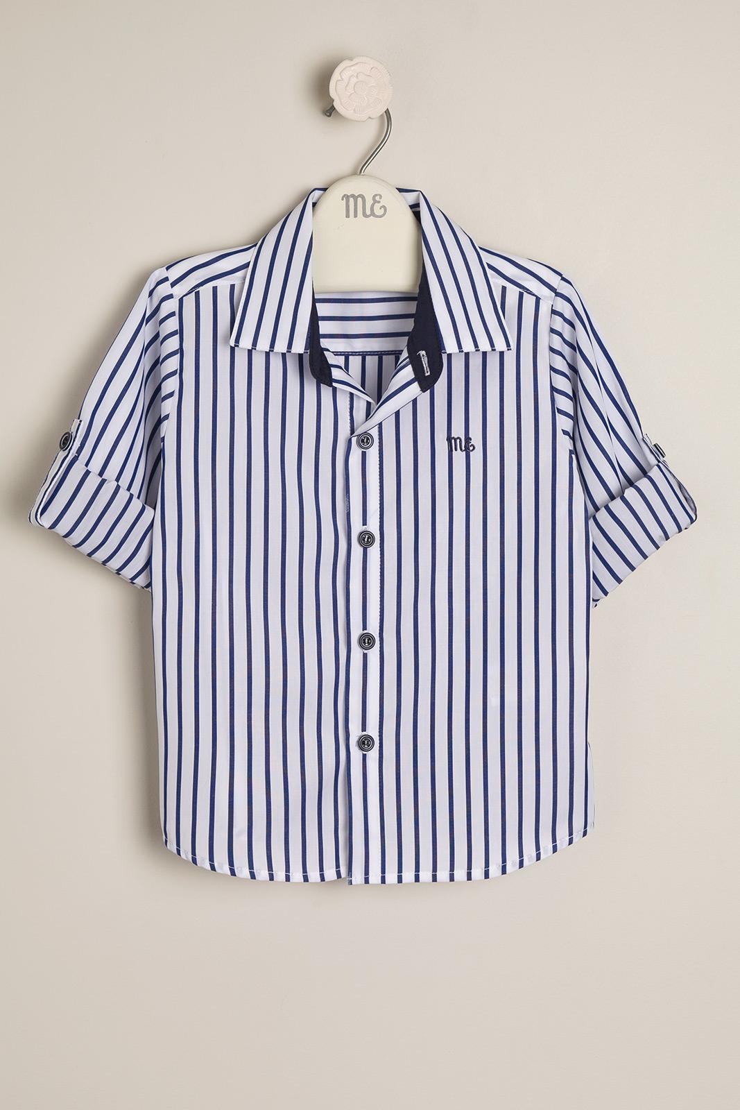 Camisa rayada Loris az/bco