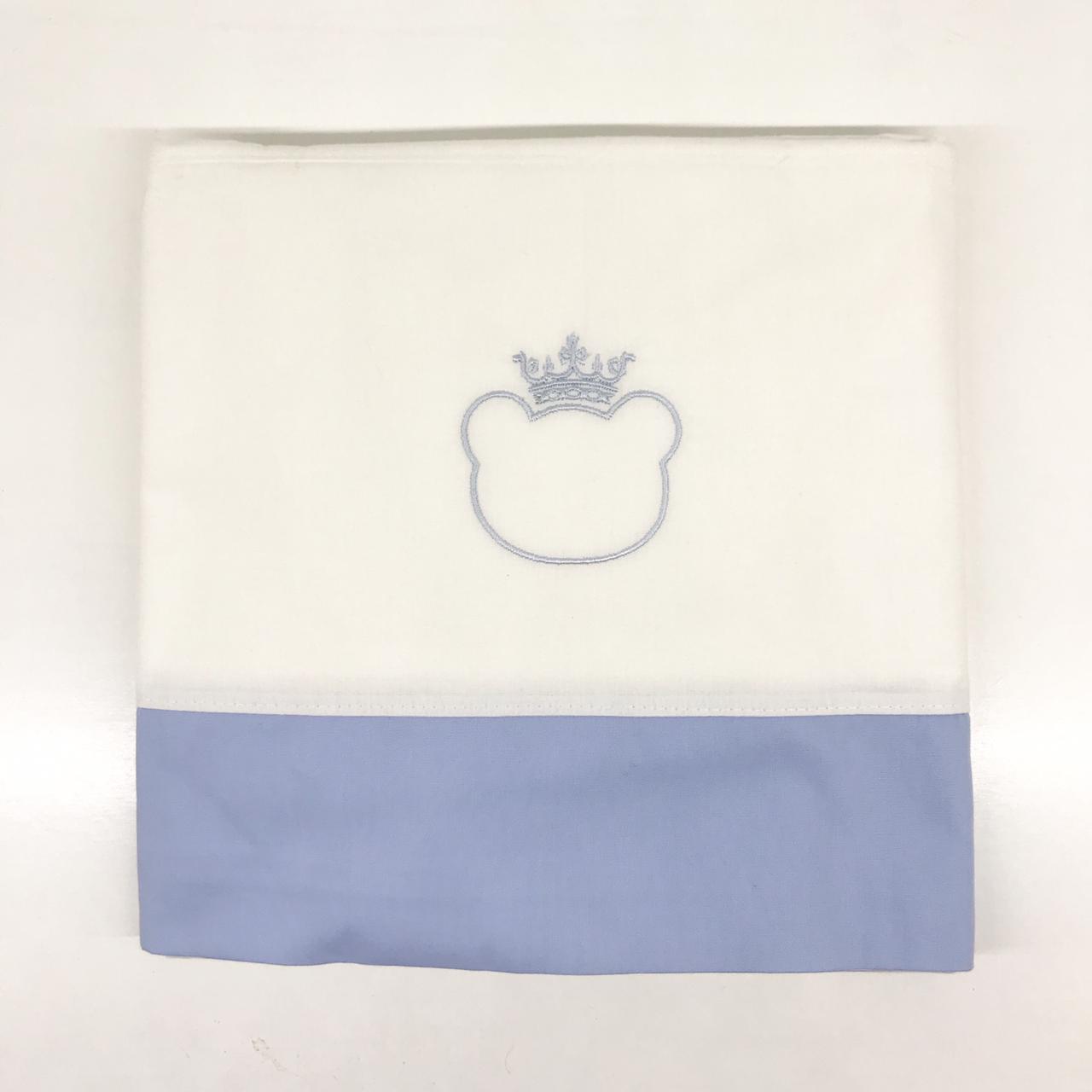 Sabana cuna azul prince
