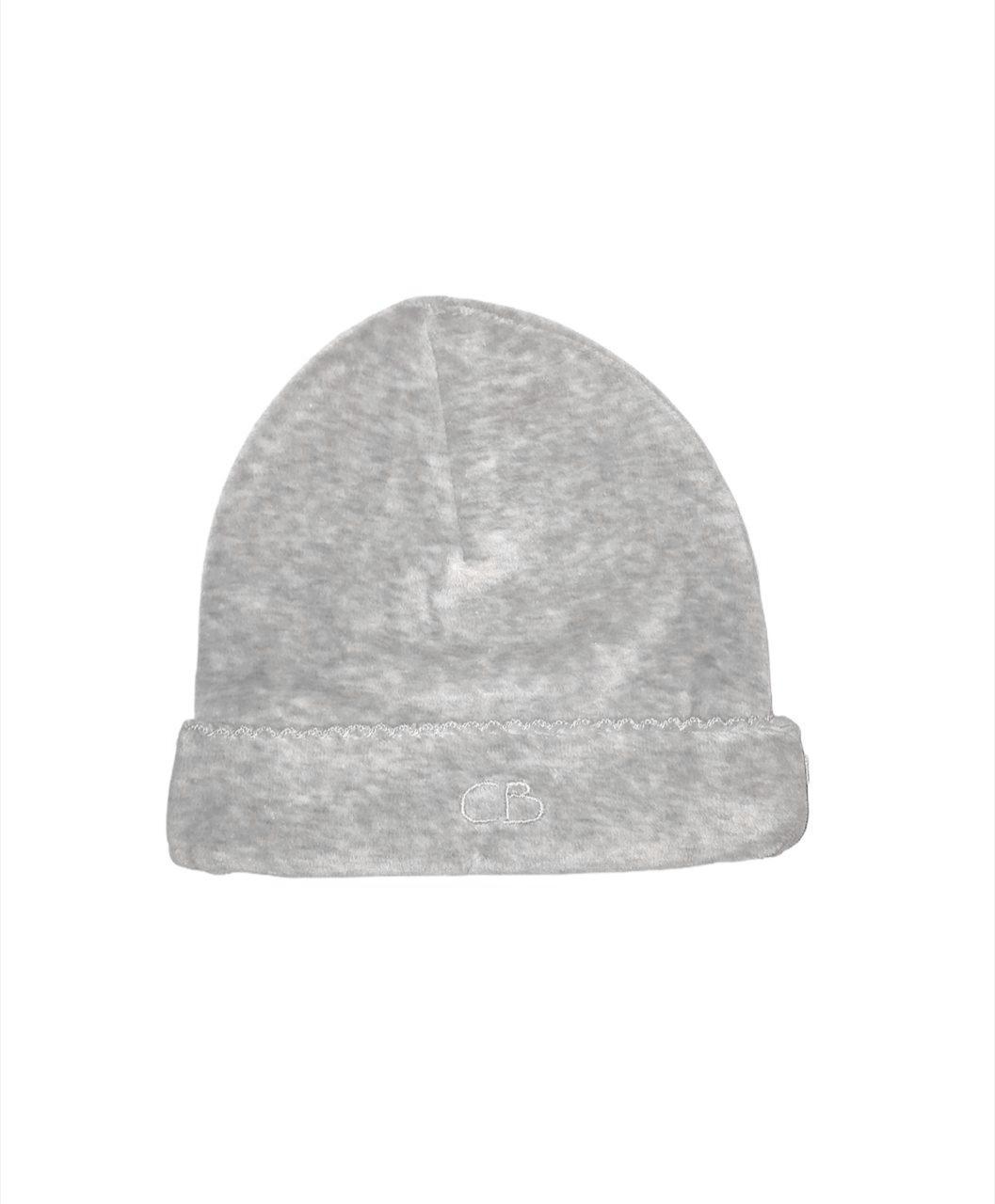 Gorro basico plush gris