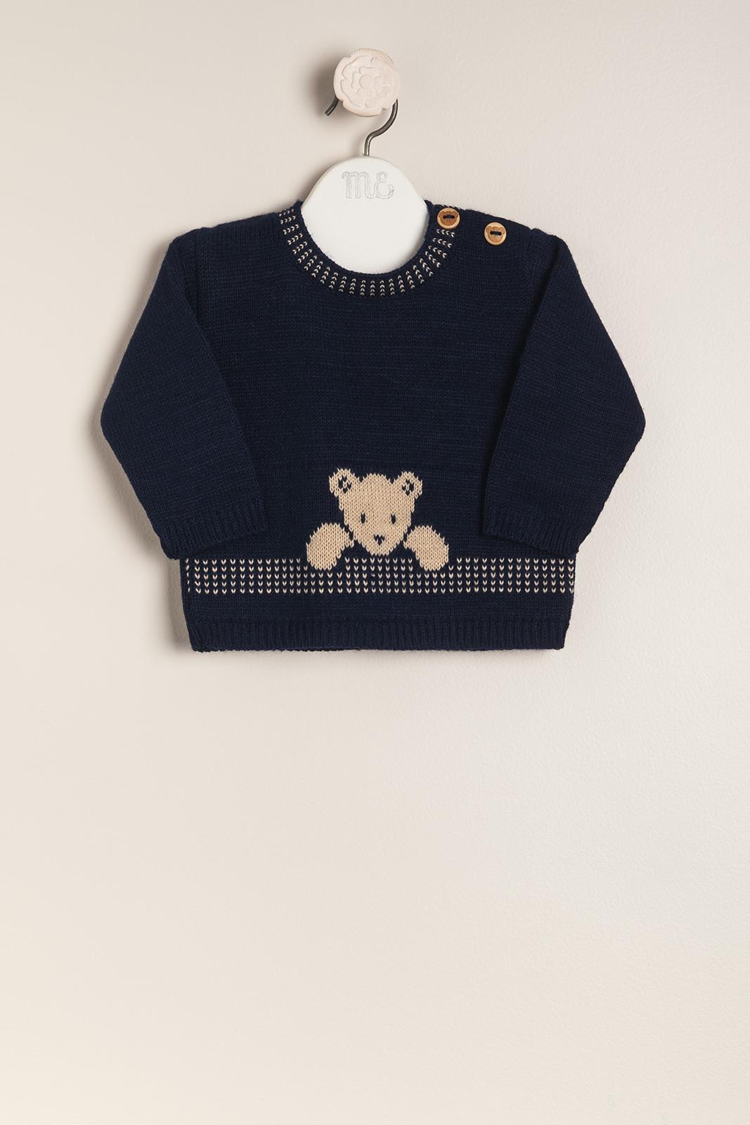 Sweater con osito baby teddy