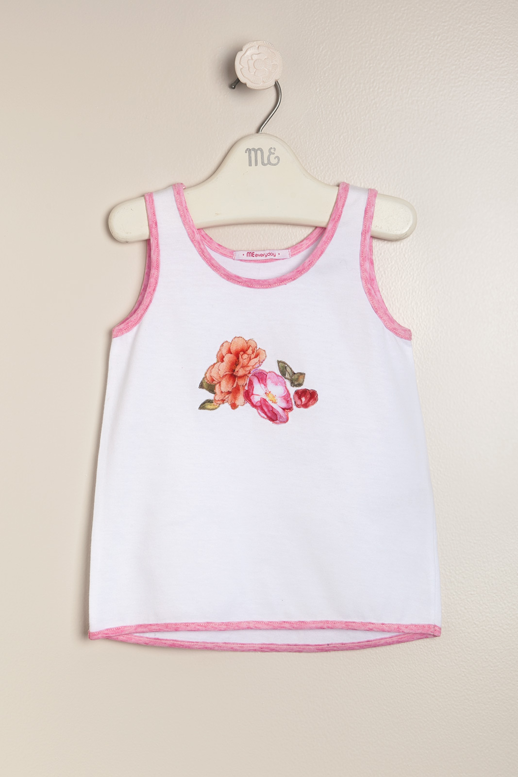 Musculosa con flores lulu