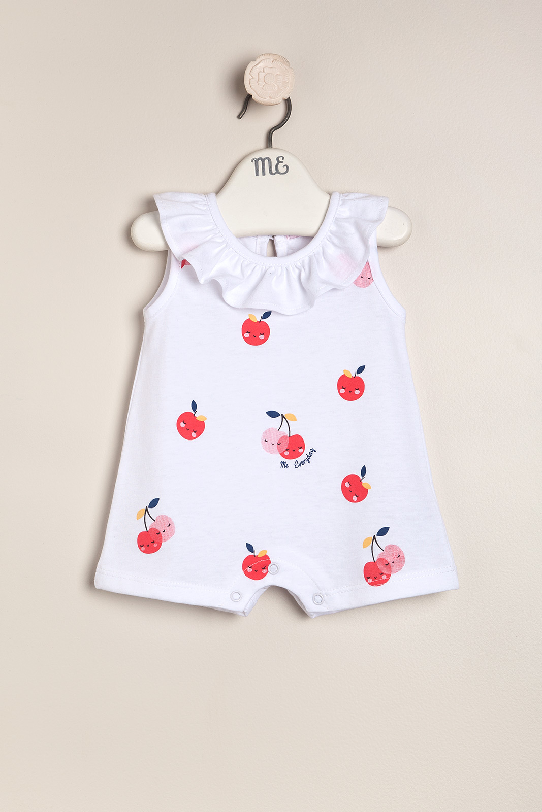 Body musculosa estampado Cherry