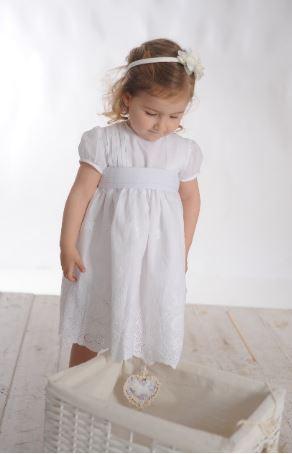 Vestido Olivia alf. guarda brod. bl