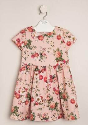 Vestido estampaso rose