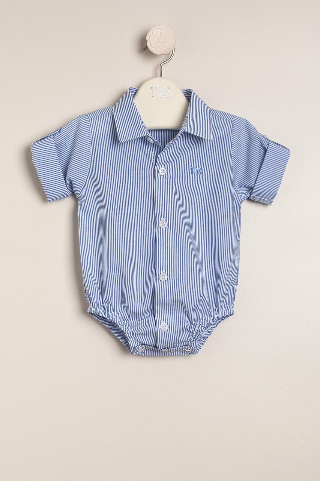 Body camisa santino bl/cel