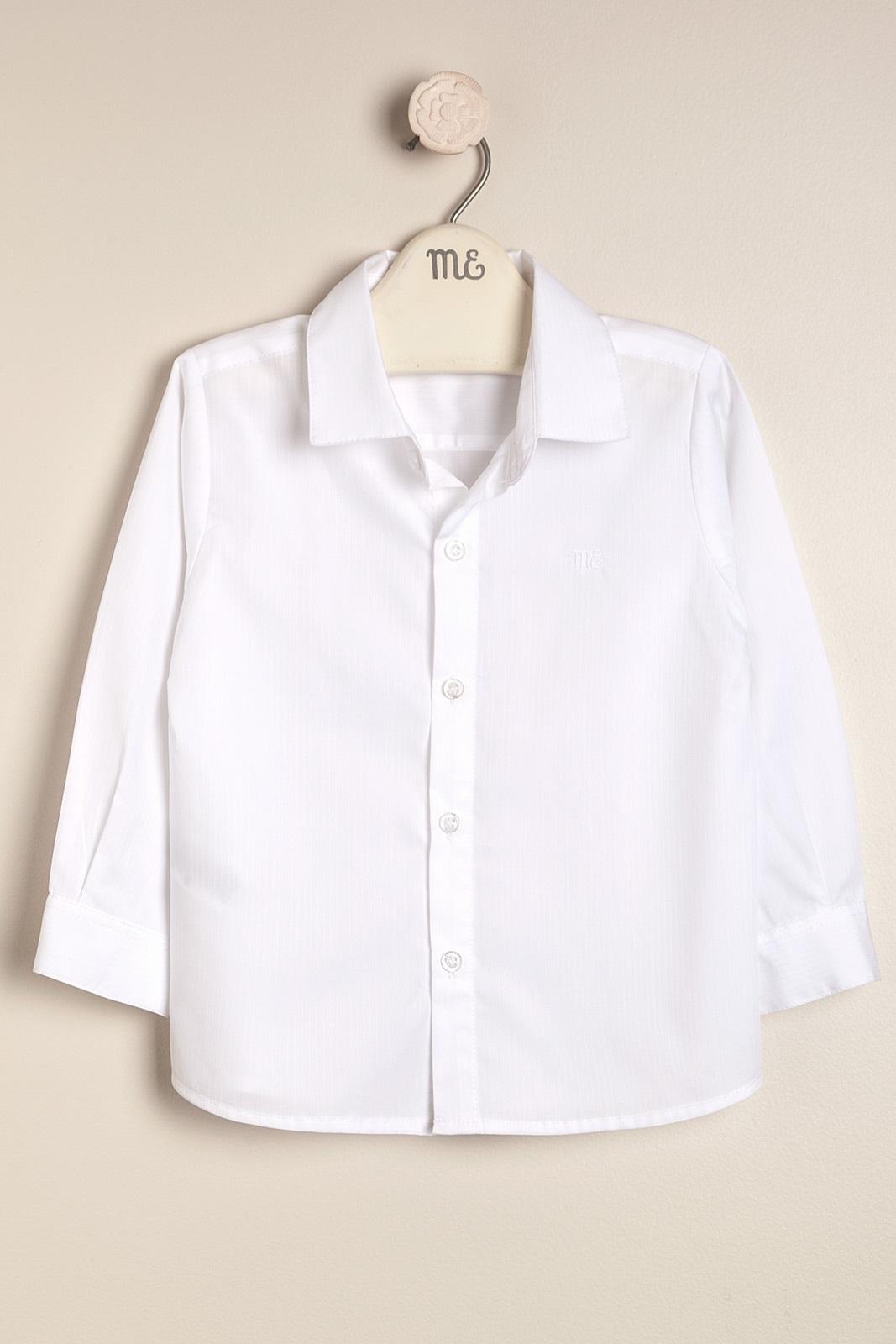 Camisa de vestir blanco